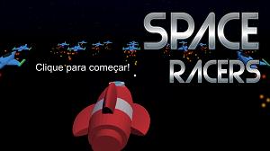 Tela inicial de Space Racers